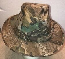 Boonie Safari Camouflage Hunting Fishing  Hat Size Small Made in the USA vi