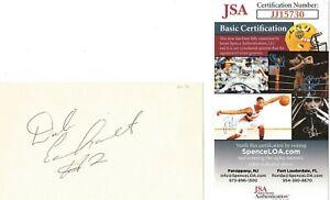 DALE EARNHARDT SR. #2 ROOKIE SEASON 1979 JSA SIGNED INDEX CARD AUTOGRAPH SENIOR