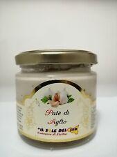 Patè di Aglio vaso da 190gr Prodotto in Sicilia Senza Glutine