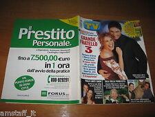 TV SORRISI E CANZONI=2003/5=BARBARA D'URSO=DANIELE LIORNI=LUCIO DALLA AMARCORD=
