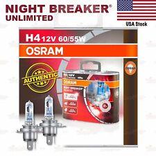 OSRAM NIGHT BREAKER UNLIMITED Headlight Bulbs H4 +110% 12V 60/55W for FRONT FOG