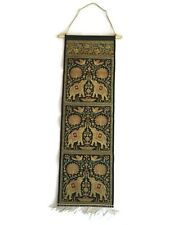 Silk Wall Hanging Tapestry Pocket Brocade Letter Magazine Keys Holder Mail 34""