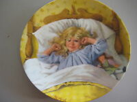 """1985 """"AWAKENING"""" BY JOHN McCLELLAND PLATE, 1ST ISSUE IN BECKY'S DAY COLLECTION"""