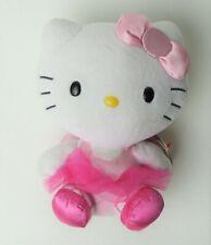 """Ty Hello Kitty Ballerina Pink Tutu Plush Stuffed Animal Sanrio 6"""""""