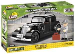 Cobi 2251 1937 Mercedes 230 Bausatz 248 Teile / 1 Figur Vorbestellung