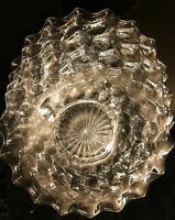 "Set Of 8 - Vintage American Fostoria Glass Clear 7.5"" Salad Plates  EXCELLENT"