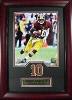 Robert Griffin III Washington Redskins NFL Football,48 cm Wandbild Holz Rahmen