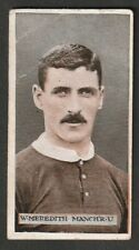 More details for w d & h o wills scissors issue 1914 football manchester united william meredith