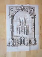 Wien Archiv Edition 1028 Grundsteinlegung Votivkirche ^862 Vinzenz Karzler