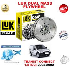 FOR FORD TRANSIT CONNECT 1.8 TDCi 2002-2002 LUK DMF ORIGINAL DUAL MASS FLYWHEEL