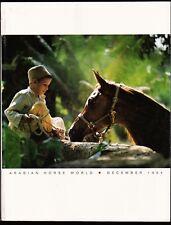 Arabian Horse World - December 1994 - Vol. 35, No. 3