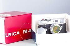 LEICA LEITZ WETZLAR M4 CLASSIC + SUMMICRON 2/35 8 ELEMENTS SET BOXED NEAR MINT