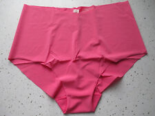 a21ad1525a VICTORIAS SECRET High Waist Brief Panty L Pink No Show Seamless SEXY  ILLUSIONS