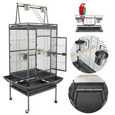 "Parrot Gage 68"" Bird Large Pet Supplies Play Top Canary Parakeet Perch Stand"