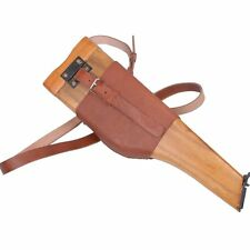 German military Replica Mauser C96 Broomhandle Leather Holster And Stock