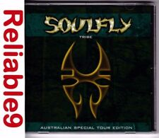 Soulfly - Tribe Australian special tour edition CD -1999 Roadrunner- Made in AUS