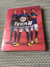 FIFA 19 Ultimate Team Steelbook Case ONLY  G2 SIZE PS3 PS4 Xbox One
