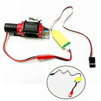 Metal Winch+Remote Controller Cable for 1/10 TRX4 SCX10 D90 D110 TF2 KM2 RC Car