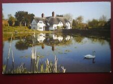 POSTCARD SHROPSHIRE BADGER - NICE VIEW OVER THE POND