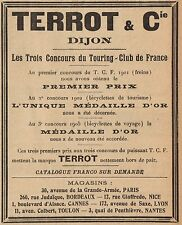 Y8139 TERROT & C. - Médaille d'Or - Pubblicità d'epoca - 1906 Old advertising