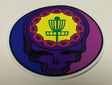 "New-Disc Golf-Ace Your Face Sticker-4""-July 2019"