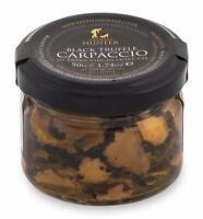 TruffleHunter Black Truffle Slices Carpaccio (50g) - Preserved in Extra Virgin O