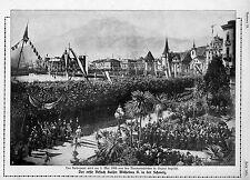 Der erste Besuch Kaiser Wilhelms II.in der Schweiz 1893 Historical Memorabilia