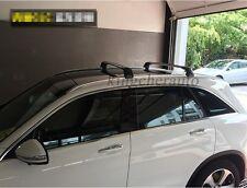 US Stock 2Pcs Mercedes Benz GLC X253 2016-2018 roof rack rail cross bar crossbar
