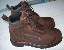 """Red Wing 4215 Dynaforce Waterproof Steel Toe 6"""" Work Boots~Men's Size 9.5 M"""