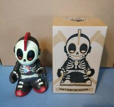 "7"" Kidrobot Kid Reaper 15 Glow in the Dark Dunny Andrew Bell"