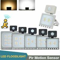Outdoor Motion Sensor Flood Light Waterproof LED Lights Porch Security Lamp