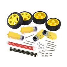 KEYES DC 3V-6V Gear TT Motor + Tire Wheel For Arduino Smart Car Robot EU