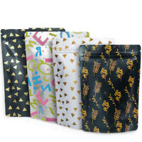Aluminum Mylar Foil Zip Lock Bags Pouches Food Grade Packaging Heat Resealable