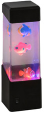 GIFTWORKS LED FISH LAMP - 2566 FLOATING SEA OCEAN RELAXING NIGHT LIGHT SENSORY