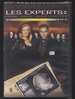 NEUF DVD LES EXPERTS CRIME SCÈNE INVESTIGATION 4 ÉPISODES N°9 A 12 SAISON 1