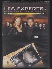 DVD EL EXPERTOS CRIME ESCENARIO INVESTIGACIÓN 4 EPISODIOS N°9 A 12 TEMPORADA 1