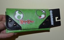 Super Mario Brothers Nintendo YOSHI Trifold Wallet Faux Leather Licensed