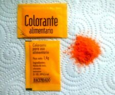 2,8 gr COLORANTE ALIMENTARIO FÜR PAELLA - NEU - AUS SPANIEN