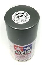 Tamiya TS-100 Semi Gloss Bright Gun Metal Spray Paint Can  3.35 oz.(100ml) 85100