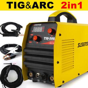 200 Amp Inverter Welder TIG MMA ARC DC Stick Gas Portable Welding Machine IGBT