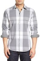 Bugatchi Shaped Fit Plaid Sport Shirt NWT S, M, L