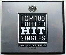 More details for guinness world records karaoke - british hit singles 7x cd+g box set 100 tracks