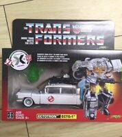 IN STOCK Transformers Ghostbusters Ectotron Ecto-1 ACTION FIGURE