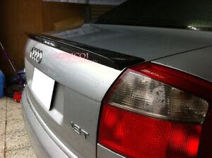 Carbon Fiber Audi 2002-2005 A4 S4 B6 Sedan A type trunk spoiler ◎