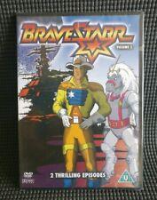 BRAVESTARR DVD OOP RARE ANIMATED CULT TV CHILDRENS CARTOON VOLUME 2 BRAVE STARR