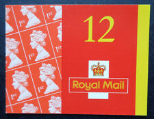 Gb 2001 Barcode Booklet Mf1a - Mnh