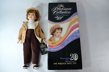 "HERITAGE MINT LTD Platinum Collection Musical Doll Paul Plays ""The Entertainer"""