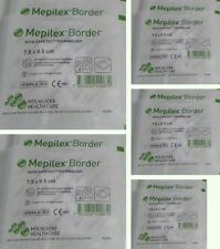 "Mepilex Border w/safetac tech 7.5x 8.5cm - 3x 3.3"" individually sealed lot of 10"