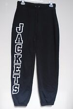 "VARSITY Cheer Jogging Pants Black Size S Sewn on ""JACKETS"" leg size S s-30 women"