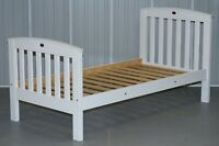 RRP £350 BOORI COUNTRY COLLECTION WHITE PAINTED PINE SINGLE CHILDREN'S BED FRAME